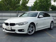 BMW420iGCMスポーツ 自社下取1オナ黒革Dアシスト新型EG