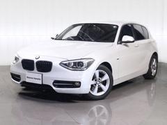 BMW116スポツナビプラスPKGミラーETCキセノンライト純AW