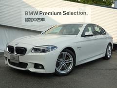 BMW528iMスポーツHDDナビサンルーフ黒レザー地デジ保証付