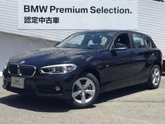 BMW118d スポーツ新型iDriveナビ禁煙車LEDPサポート