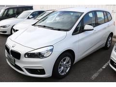 BMW218dグランツアラー 弊社展示車輛 新車保証継承