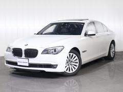 BMW750iコンフォートPKGサンルーフワンオーナー黒レザー