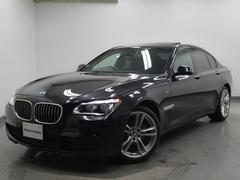 BMW740i Mスポーツ新型iドライブSR黒レザーLEDライト