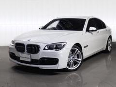 BMWアクティブハイブリッド7Mスポーツベージュ革LED1オーナー