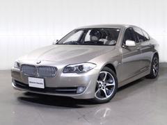 BMWアクティブハイブリッド5ベージュ革HDDナビTV1オーナー