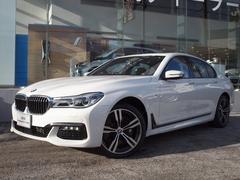 BMW750iMスポーツレーザーライト黒レザーサンルーフ純正HDD