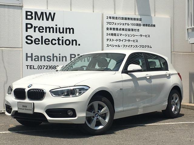 BMW 118iスポーツLEDライトパーキングサポート純正HDDナビ