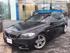 BMW528iツーリングMスポーツリアエンターテインメントSR