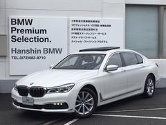 BMW740LiリアエンタープラスPKG・サンルーフ・黒革・G12
