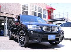 BMW X3xDrive 28i Mスポーツ 赤革シート 新品アルミ