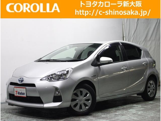 トヨタ アクア S ワンオーナーカー 純正ナビ ETC (車検整備付)
