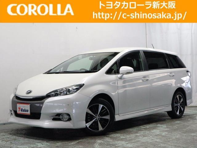 トヨタ ウィッシュ 1.8Sワンオーナーカー 純正HDDナビ (検...