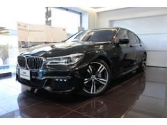 BMW740i Mスポーツ リモートパーキング 禁煙車DPE内装