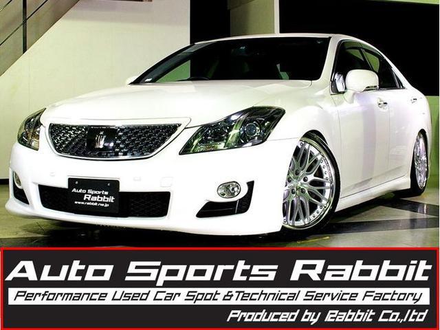 トヨタ 3.5アスリートGパッケージ黒革エアシートレーダークルーズ