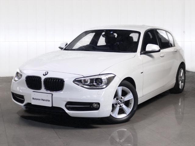 BMW 1シリーズ 116i スポーツ純正HDDナビキセノンMサー...