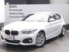 BMW118dMスポーツ弊社元デモカ純正HDDナビPサポートLED