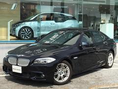 BMWアクティブハイブリッド5 Mスポーツ認定保証SR黒革1オーナ
