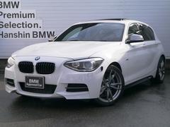 BMWM135i 認定保証黒革SRPサポートキセノン純正HDDナビ