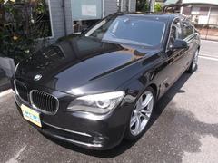 BMW750i 黒革SR 純正HDDナビ地デジ
