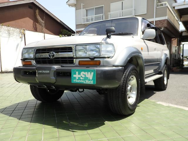 トヨタ ランドクルーザー80 VXリミテッド  ディーゼルターボ ...