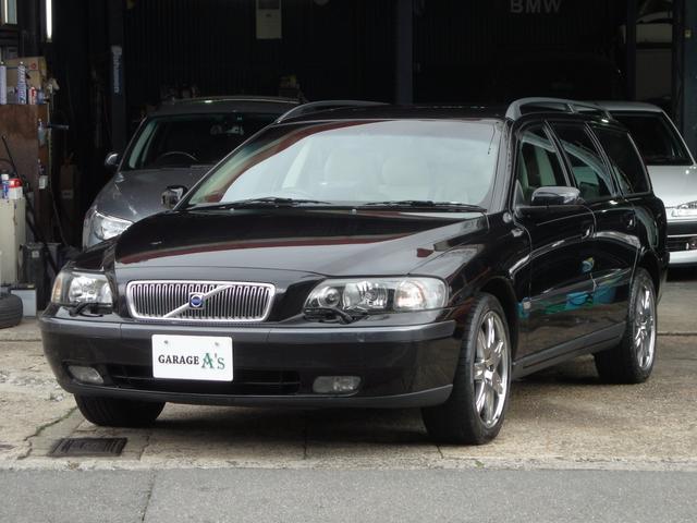 ボルボ V70 ブラックサファイア 限定車 禁煙車 HID (車検...