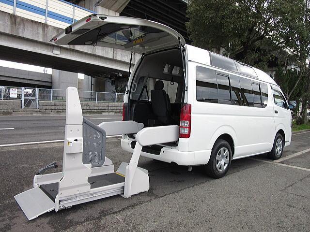 トヨタ 後期型 福祉車両ウェルキャブBタイプ車イス2台固定 事業用可