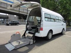 キャラバンバス福祉車両チェアキャブMタイプ車イス2台固定10人乗 事業用可