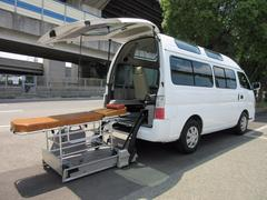 キャラバンバス福祉車両チェアキャブMタイプ車イス2台固定ストレッチャー本体