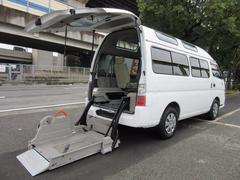 キャラバンバス福祉車両チェアキャブM仕様 車イス2台固定 10人乗