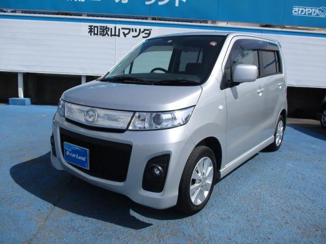 マツダ AZワゴンカスタムスタイル XS HDDナビ HID (車...