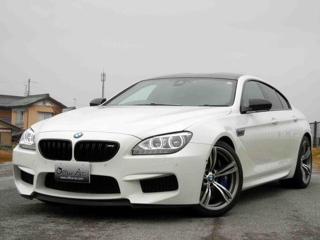 BMW M6グランクーペ NBTナビ カーボンルーフ 20AW