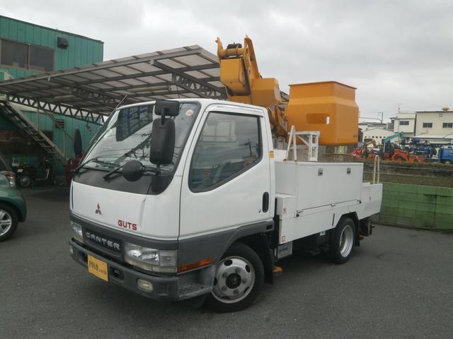 三菱ふそう キャンター 高所作業車 ETC Bカメラ (車検整備付)