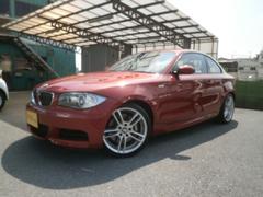 BMW135iMスポーツ 1オーナー禁煙車 黒革シート ナビETC
