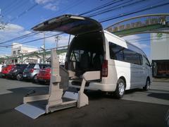 ハイエースコミューターロングワイド ウェルキャブ PWスライド 車椅子2積