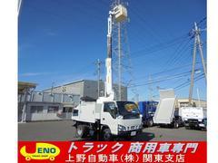 エルフトラックアイチ製 高所作業車 作業床高8m 作業積載重120kg