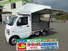 キャリイトラック 移動販売車 たい焼き たこ焼き販売(スズキ)