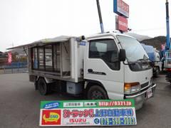 アトラストラック 4WD 移動販売車 冷蔵冷凍機付 2トン積み(日産)