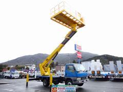 キャンター高所作業車 タダノ スーパーデッキ 高さ14.8m