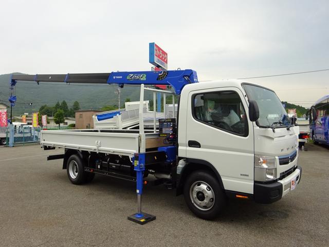 クレーン付トラック タダノ 4段 超ロング 3.5t積み
