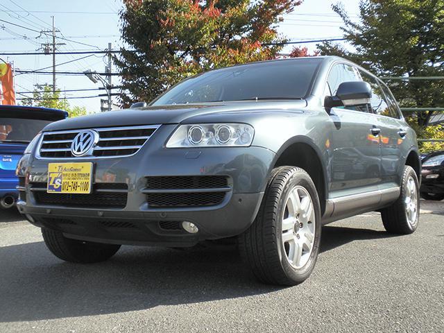 フォルクスワーゲン トゥアレグ V6 2006年モデル  純正HD...