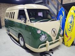 バネットバン DXアーリー ワーゲンバス仕様 フルエアロ 両側スライドドア(日産)