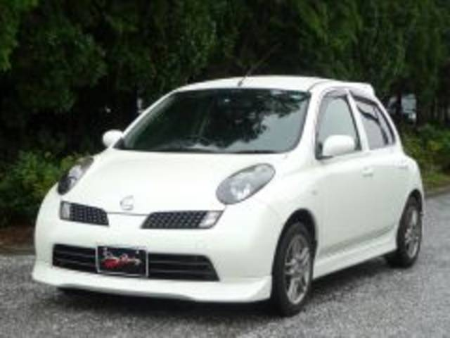 Photo of NISSAN MARCH 15SR-A / used NISSAN