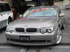 BMW745iコンフォート&ダイナミックPKGベージュ本革SR禁煙