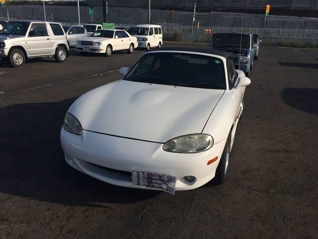 マツダ ロードスター SP オープンカー (車検整備付)