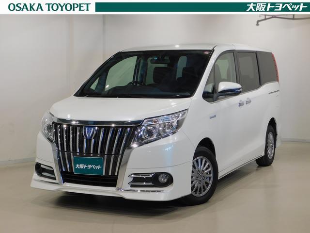 トヨタ ハイブリッドGi合皮シートケンウッドMDV-Z70W後席TV