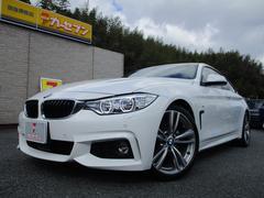 BMW430iグランクーペ Mスポーツ ワンオーナー 黒レザー