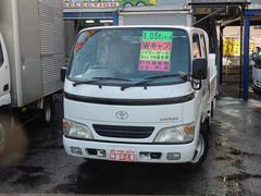 ダイナトラック1.1t Wキャブ 垂直Pゲート600kNOx適合ガソリン