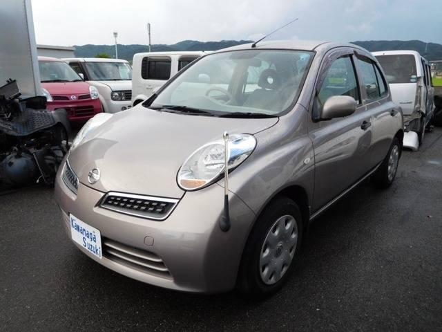 日産 マーチ 12Sアンシャンテ 助手席回転シート (車検整備付)