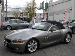 BMW Z42.2i パワーオープン 純正DVDナビ レザーシート