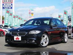 BMW523i Mスポーツ F10後期 S/R 19AW 黒革